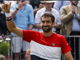 ac2d63fe6c0f FILA sponsored athlete Marin Cilic secured his second ATP World Tour  singles title of 2018 on Sunday afternoon in London