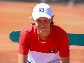 online store 91963 67e2d FILA announced today that it has signed a sponsorship agreement with Leo  Borg, son of tennis legend and FILA Brand Ambassador, Bjӧrn Borg.